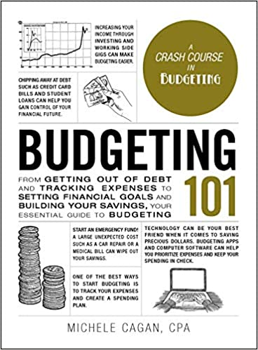 Budgeting 101 by Michele Cagan book cover