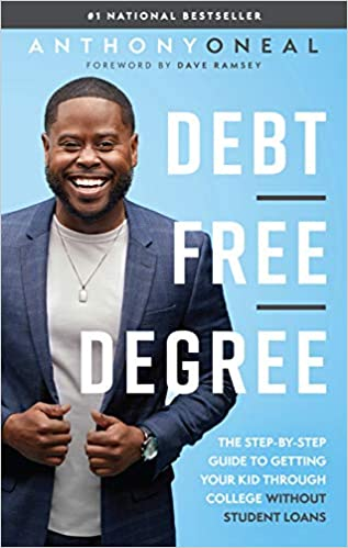 Debt Free Degree by Anthony Oneal book cover