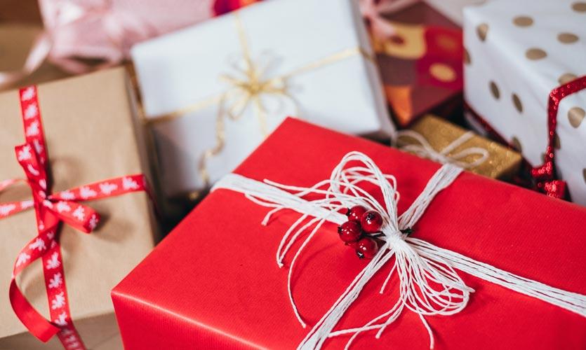multiple Christmas presents