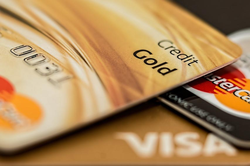 close up photo of credit cards